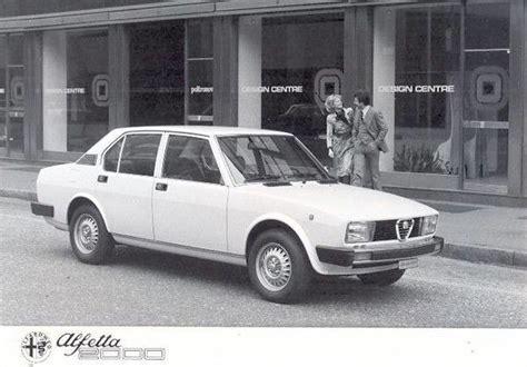 Alfa Romeo Alfetta (1972-1987