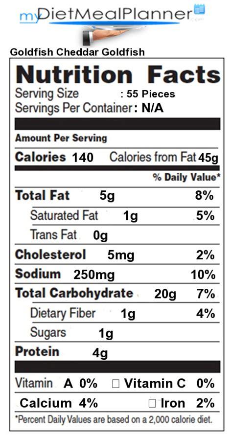 Nutrition facts Label   Snacks 8   mydietmealplanner.com