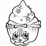 Shopkins Coloring Pages Printable Sheets sketch template