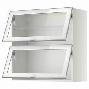 Ikea Metod Oberschrank : metod wandschrank horiz m 2 glast ren wei jutis frostglas glast ren wandschr nke und ikea ~ Markanthonyermac.com Haus und Dekorationen