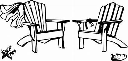 Chair Beach Chairs Clipart Drawing Clip Adirondack