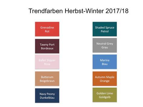 Trendfarben Herbst 2017 by Trendfarben F 252 R Herbst Winter 2017 2018 Elitestyle