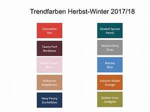 Farben Herbst 2018 : trendfarben f r herbst winter 2017 2018 elitestyle ~ One.caynefoto.club Haus und Dekorationen
