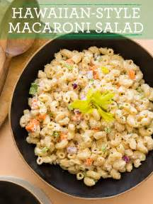 Hawaiian Style Macaroni Salad Recipe