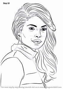 Learn How To Draw Priyanka Chopra  Celebrities  Step By
