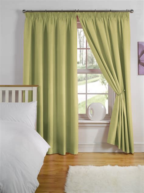 ready made curtains thermal backed lining top range