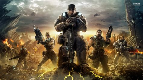 Gears Of War 3 Hd Wallpaper, Background Images