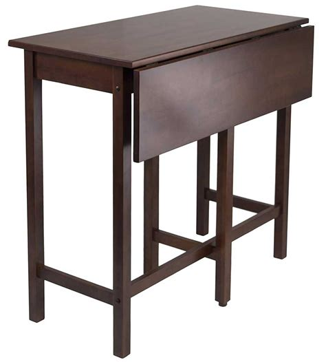 High Tables by Drop Leaf High Table By Winsome 94149 In Dining Tables
