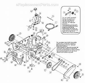 Yard Man 31as2b5-801 Parts List And Diagram
