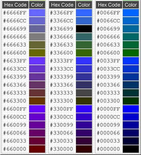 color codes hex html color codes demystified my eggclectic interests ii
