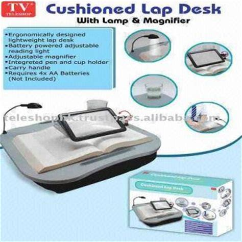 cushioned desk with light cushion desk with l and magnifier global sources