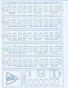 Porsche Cayman 2003 Fuse Box  Block Circuit Breaker Diagram
