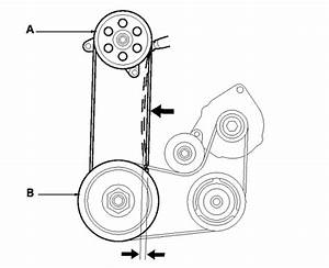 25 2003 Honda Accord V6 Serpentine Belt Diagram
