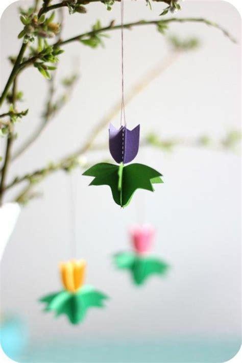 die besten  tulpen basteln ideen auf pinterest