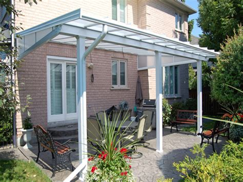 cover pergola from plastic corrugated roof patio