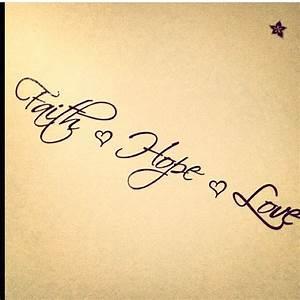 Tattoo Hoffnung Symbol : faith hope love tattoo tattoo ideas pinterest kleine tattoos pinterest tattoo ideen ~ Frokenaadalensverden.com Haus und Dekorationen