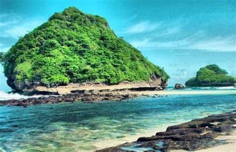 spot foto pantai goa cina malang htm rute obyek
