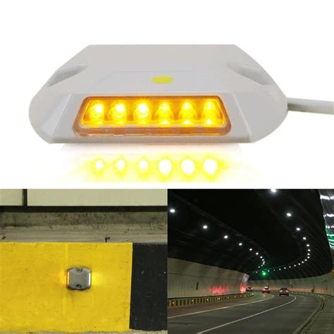 ip67 12led 0 36w powered tunnel guidance light led wall