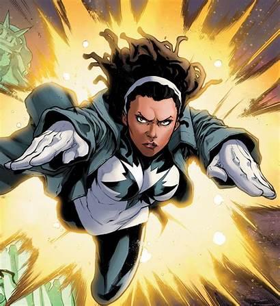 Marvel Captain Spectrum Lynch Lashana
