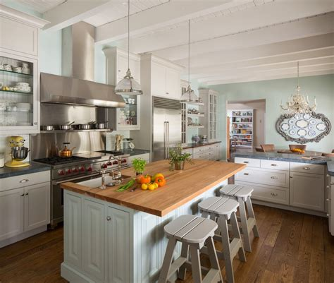 country kitchen islands with seating california ranch style kitchen interiors by color