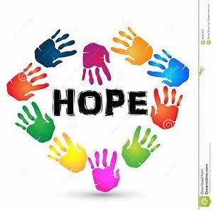 Hands, Hope, Logo, Stock, Vector