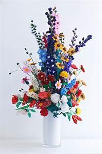Blumen Aus Papier : blumen aus gefaltetem papier ~ Udekor.club Haus und Dekorationen