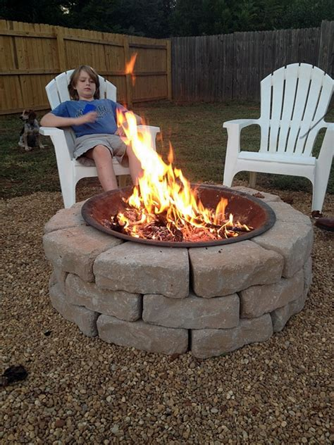 diy outdoor fireplace stay warm and cozy with these 35 diy pit tutorials