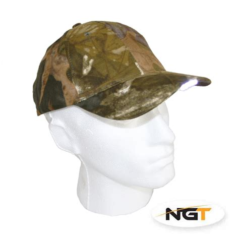 hat with light built in ngt camo cap with 5 led lights built in