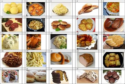 cuisine quiz german food by picture quiz by platonicus
