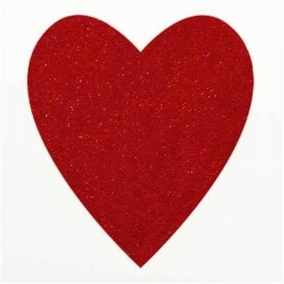 Heart Glitter Clipart Clip Sparkly Domain Hearts