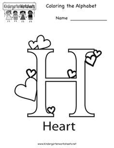 alphabet letter  coloring page   english coloring