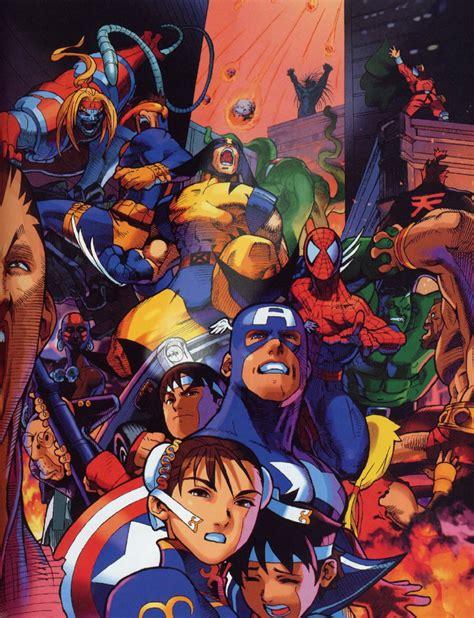 Marvel Super Heroes Vs Street Fighter Game Giant Bomb