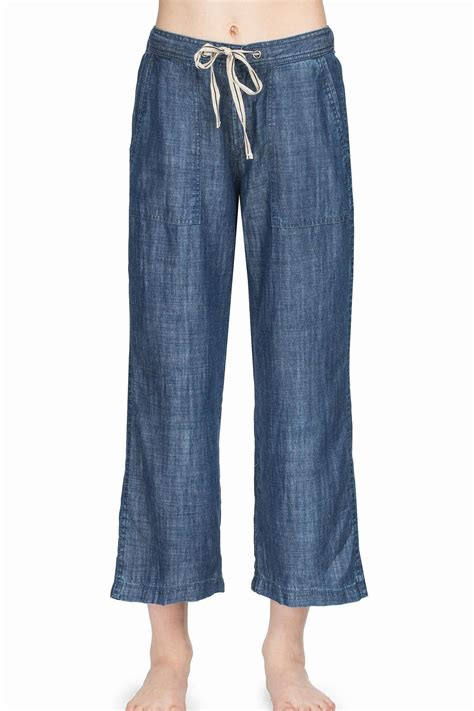 leg l sweater lilla p chambray drawstring pant from district of columbia