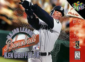 Major League Baseball Featuring Ken Griffey Jr Nintendo 64