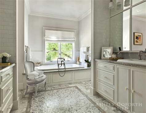 cream  gray bathroom transitional bathroom ashley