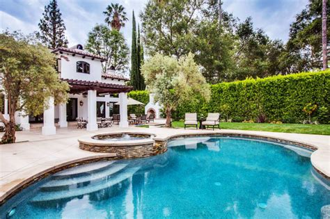 spanish colonial revival makeover mature olive tree