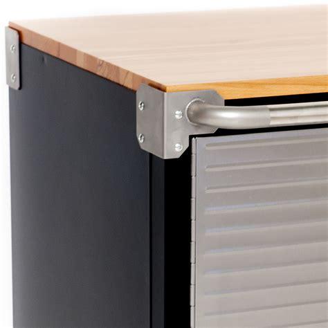 shop for maxim hd 2 door timber top roll cabinet garage