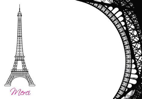 eiffel tower themed bridal shower invitations esquared