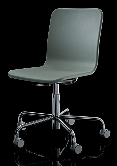 Soho Armchair by Soho Armchair On Casters Black By Magis