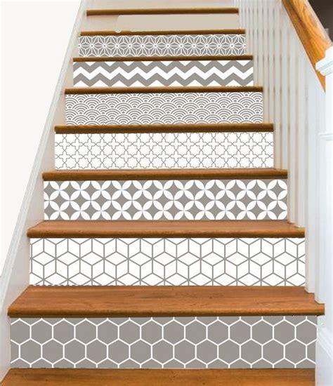 steps stair riser vinyl strips removable sticker peel