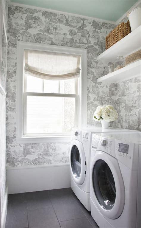 laundry room wallpaper  creative ideas designs