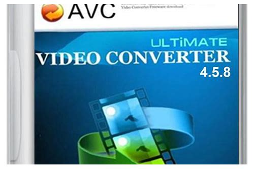 avc any video converter ultimate all versions crack