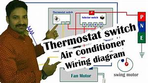 Thermostat Switch Air Conditioner Wiring Diagram