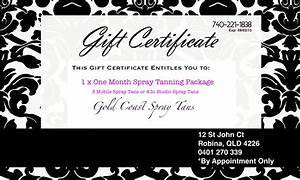 fillable gift certificate template free the best and With photoshoot gift certificate template