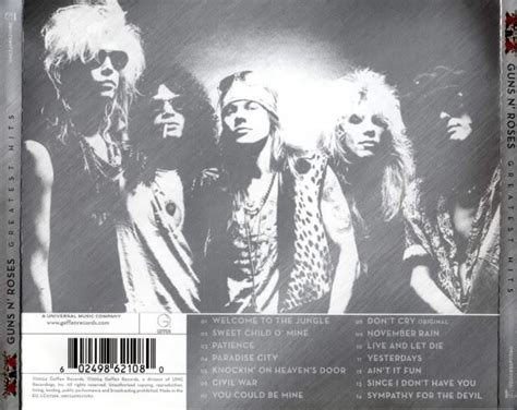 Guns N Roses-since I Don't Have You