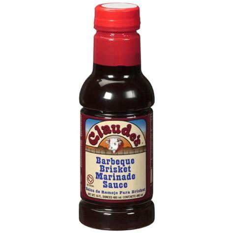 brisket marinade claude s barbeque brisket marinade sauce 16 fl oz walmart com
