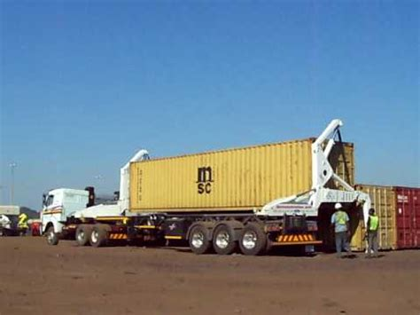 self loader truck swinglift container side lifter