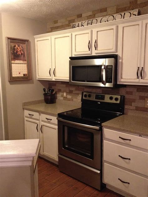 Annie Sloan Old White Kitchen Cabinets  For The Home
