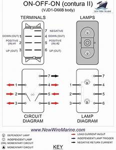 6 Pin Toggle Switch Wiring Diagram