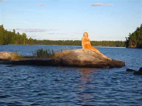 The Mermaid Of Rainy Lake Minnesota  Rainy Lake